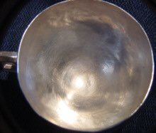 Antique Spanish Colonial  Silver Cup