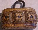Rare Antique Snuff Box In Bark