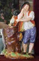Paris Porcelain Figurines J Petit