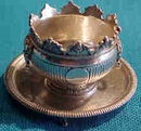 Sterling Miniature Bowl And Tray