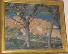 American Impressionist Painting By A.C.Webb