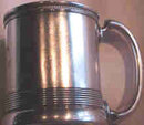 Aesthetic Movement Sterling Cup