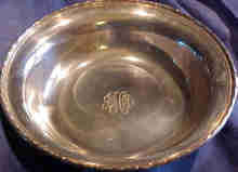 Large Sterling Serving Bowl By Towle