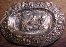 A Very Rare Renaissance Silver Platter