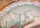 Large Antique Japanese Seto Charger