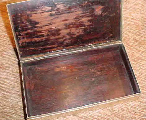 Antique Himalayan Buckle Mounted On Box