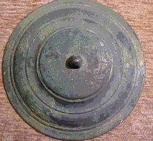 Han Dynasty Bronze Vessel Lid