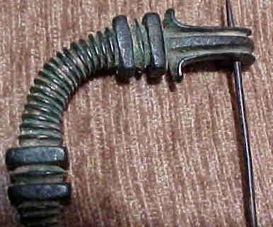 Egypto-Roman Bronze Fibula