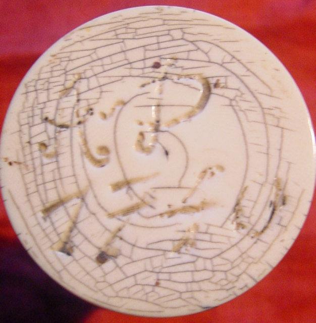 18th Century Ivory/Ormolu Sand-Glass
