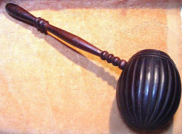 Scrimshaw Fluted Coconut Dipper