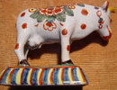 Delft Cow Figurine