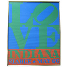 Original Robert Indiana LOVE Poster