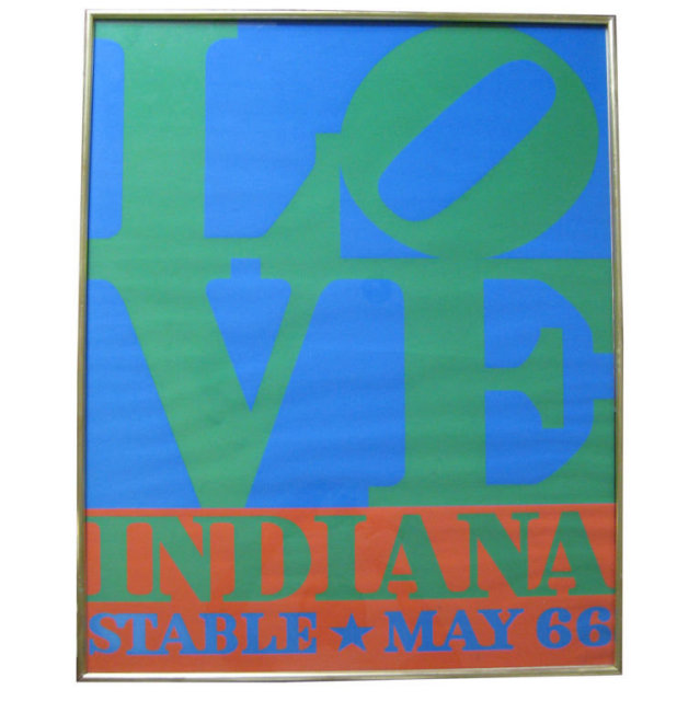 Original Robert Indiana LOVE Poster