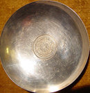 Sterling Pin Tray - Syrian Coin