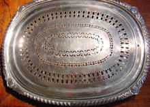 Finest Georgian Platter/Mazarine