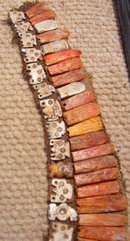 Colorful PreColumbian Chimu Collar