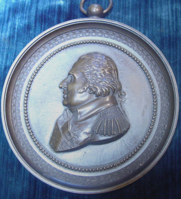 Imperialist Russian Plaque - Louis XVIII