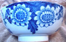 English Delft Punch Bowl