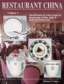 Restaurant China, Airline, Ship & Railroad Dinnerware Volume I