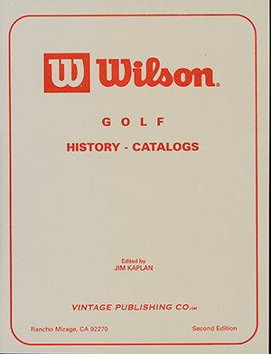 Wilson Golf History-Catalogs