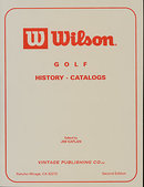 Wilson Golf History-Catalogs