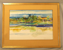 seaside painting paintings watercolour watercolours american art