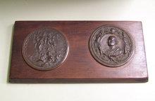 Cristoforo Colombo 1892 Bronze Medallions