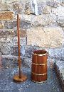 American Country kitchen butter churn c1860