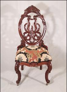 John Henry Belter rosewood ladys chair