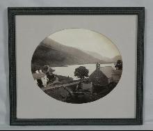 Vintage photo of Tal Y Llyn Dolgelley c1870