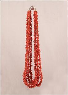Sicilian coral necklace