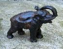 19th century cast iron Elephant doorstop c1880