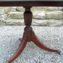 CAmerican centennial walnut dining table with leaves c1885