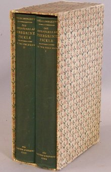 Tobias Smollett The Adventures  Peregrine Pickle c1935