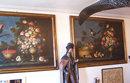 18th century Florentine oil canvas still life paintings