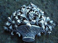 Vintage Sterling Silver Guglielmo Cini Brooch