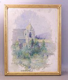 Hobart B. Jacobs Fine antique oil painting