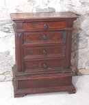 Small Italian chest of drawers or credenzini c1700