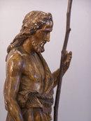 South Netherlandish Flemish carved Saint John Baptist