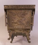 Antique 19th century Japanese bronze planter