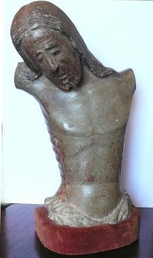 15thc Northern Italian carving of Jesus Christ