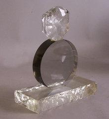 Salviati Veneria Modern Art abstract glass sculpture