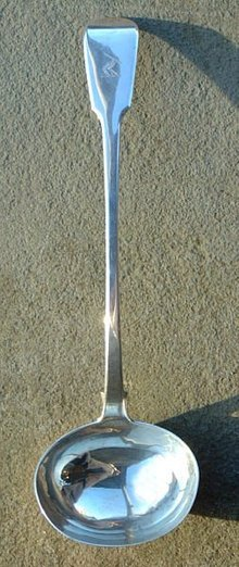 William Stevenson Sterling Silver Antique Ladle