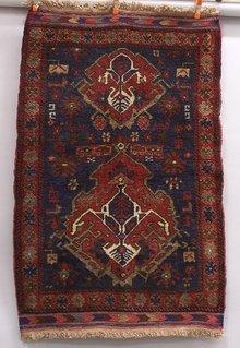 Afghanistan Afghan Kazak wool war carpet