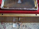 Antique lg French silver toilet set by Aucoc
