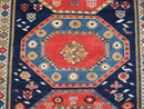 Shirvan oriental rug or carpet c1900 5.2 inches by 9.5