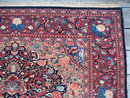 Kashan Persian oriental scatter rug or carpet c1930