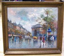 painting paintings france paris oil paint
