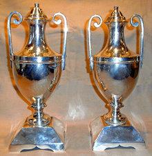 urn vase vase sheffield shefield silver plate
