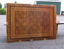 mats cover marquetry